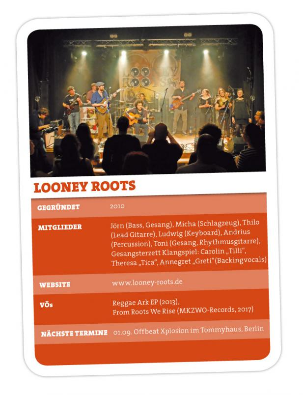 Looney Roots – Reggae aus Meck Pomm