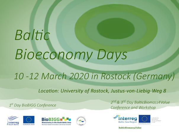 Baltic Bioeconomy Days in Rostock!