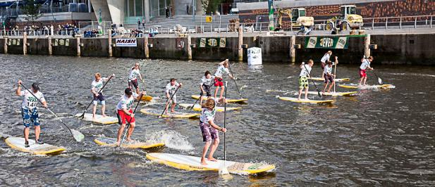 Rostocker dominieren SUP World Cup