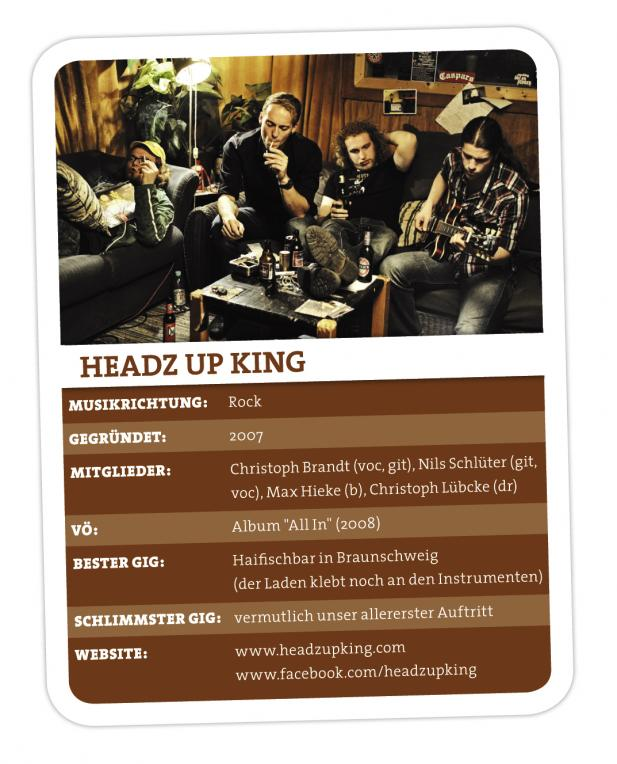 Headz up King – Spread The Good Music, Folks