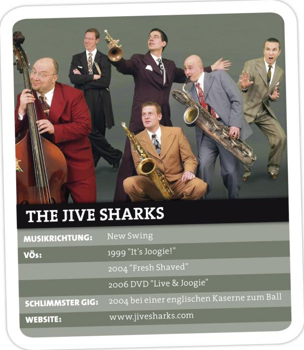 THE JIVE SHARKS